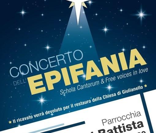 Concerto dell'Epifania a Cori