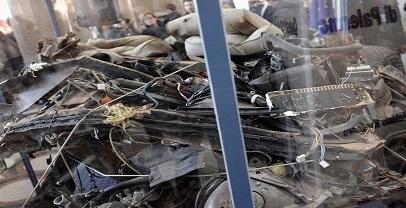 Mafie: inaugurata la teca con i resti dell'auto della scorta di Falcone