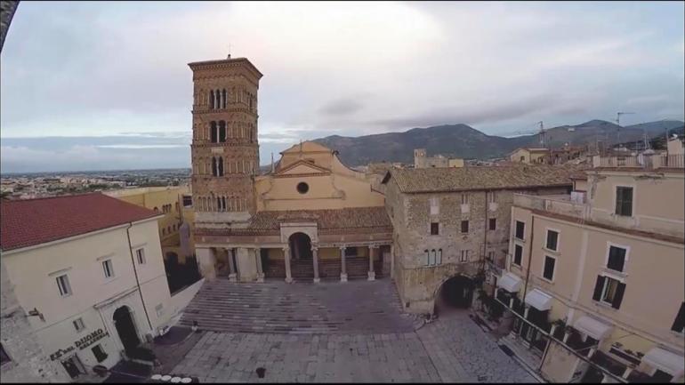 """Terracina: la storia, il mito… """"Alto Medioevo e scultura a intreccio"""""""
