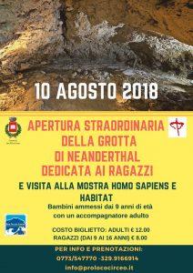 San Felice Circeo. Homo Sapiens e Habitat in mostra il 10 agosto