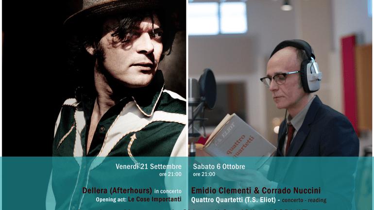 Inkiostro: Dellera ed Emidio Clementi & Corrado Nuccini a Cori