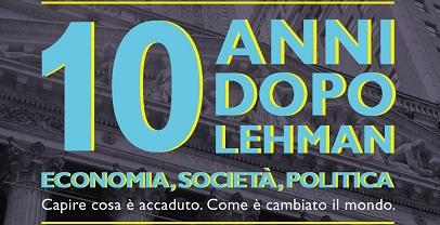 Regione Lazio: 10 anni dopo Lehman