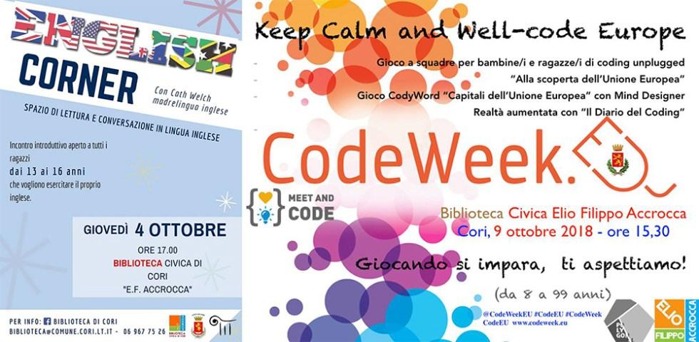 Agorà English Corner Keep Calm And Well Code Europe Due