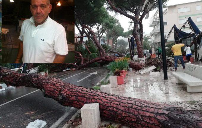 Terracina – maltempo. La città piange Nunzio, vittima dell'uragano