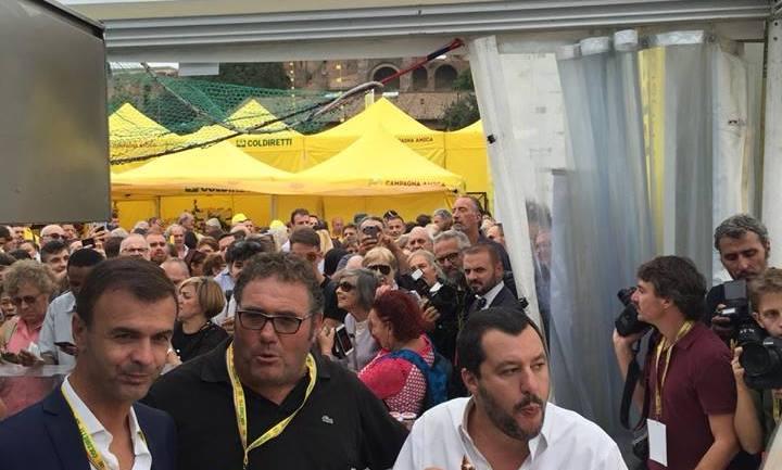 """Roma, Circo Massimo:Luci accese anche di giorno all'evento Coldiretti"""""""