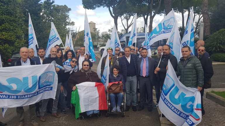 Roma. Vertenza CUP: sit-in dell'UGL davanti alla Regione Lazio