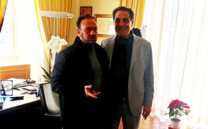 Anzio. Sindaco e presidente Acqualatina, si incontrano a villa Corsini Sarsina