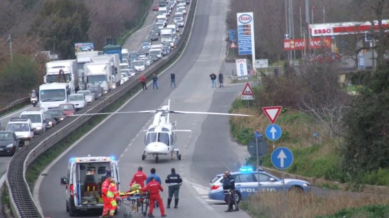 Pontina – 148:dopo l'incidente con tre camion riaperta in direzione Roma