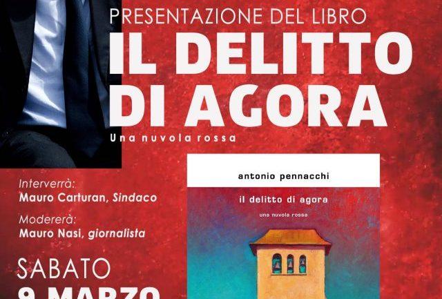 """Cisterna di Latina. """"Il delitto di Agora"""" il nuovo libro di Pennacchi"""