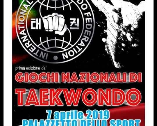 Fondi. Giochi Nazionali di Taekwon-do: un evento da non perdere