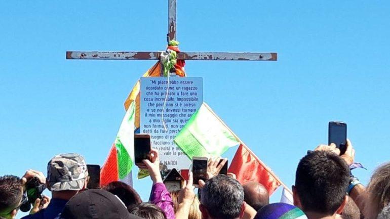 La vetta della Semprevisa dedicata a Daniele Nardi