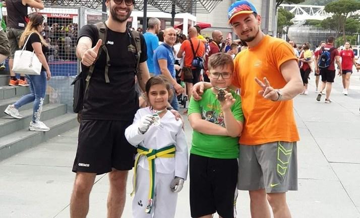 Roma. Il taekwondo per 1500 bambini