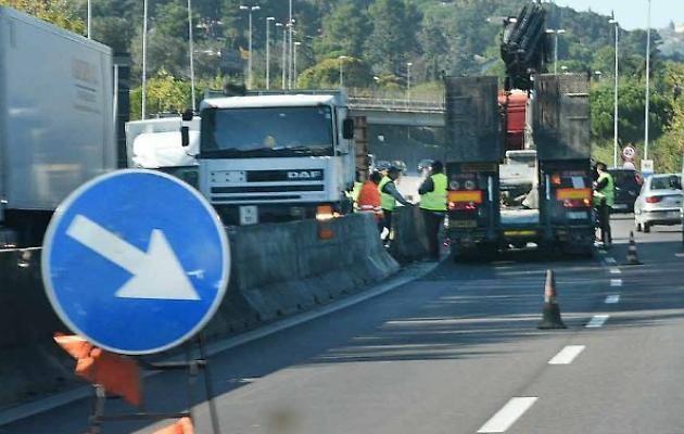 La Pontina e gli infiniti lavori di rifacimento dell'asfalto