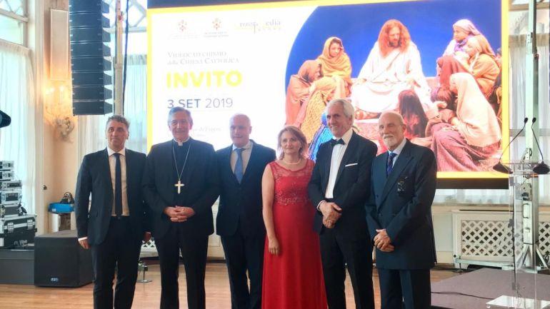 La rappresentazione del Venerdì Santo ala mostra del cinema di Venezia