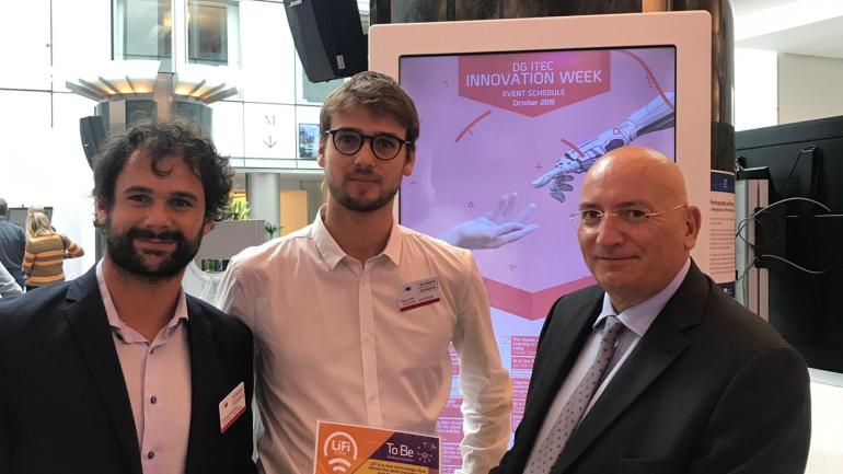 Adinolfi (LEGA) incontra a Bruxelles l'unica Start Up che rappresenta l'Italia all'Innovation week