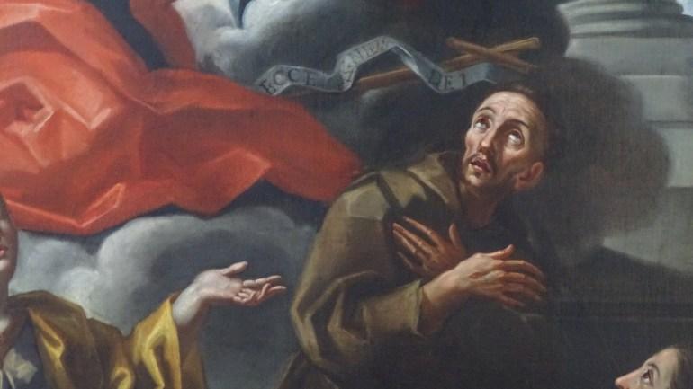 Restaurata la Pala dell'altare maggiore della chiesa parrocchiale di San Giovanni Reatino (Rieti)