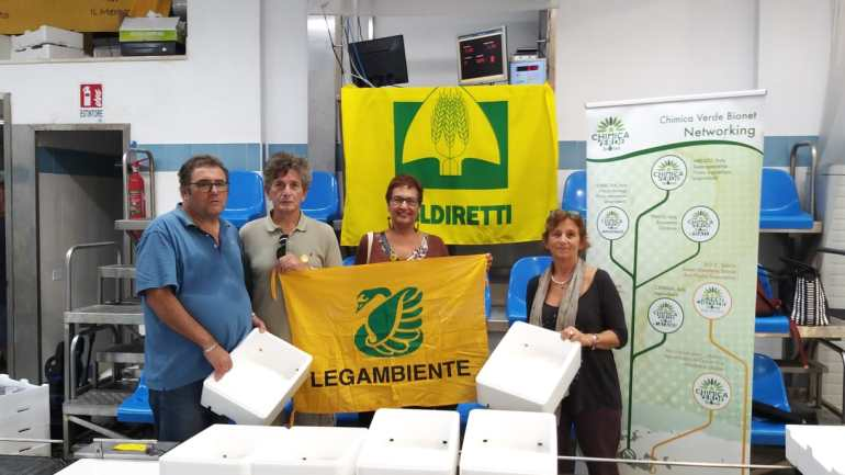 "Avanti tutta con il  ""Fishing for Litter Terracina"""