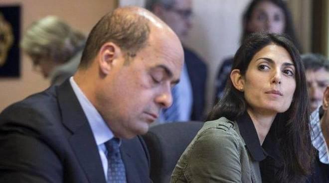"""Roma. """"Rifiuti smaltiti a casa di Raggi e Zingaretti"""""""