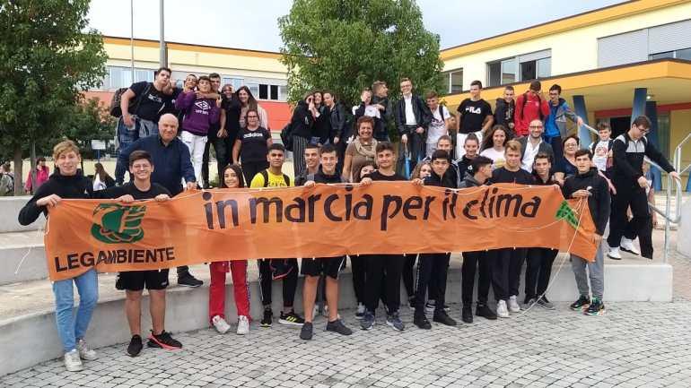 """Terracina. ITS A: Bianchini, scuola sostenibile, Legambiente prima """"Climate Change School"""""""