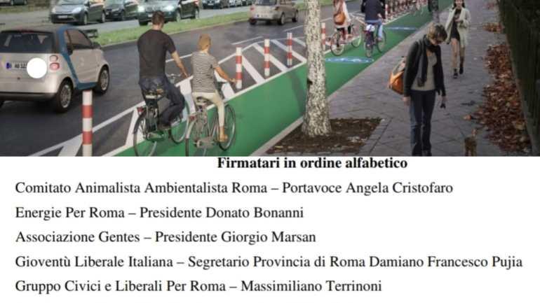 Verdi Liberali Italiani: per incrementare la mobilità sostenibile e ciclabile a Roma senza sprecare risorse