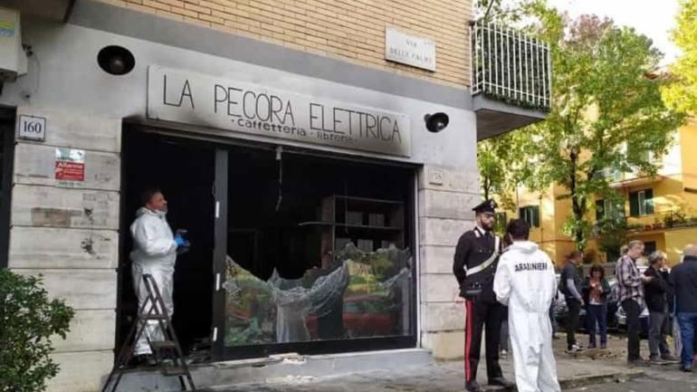 Roma. I Verdi Liberali sull'incendio alla Pecora Elettrica