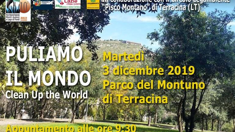 Terracina. Domani alle 9.30 presso il Montuno, Giornata Ecologica di Pulizia