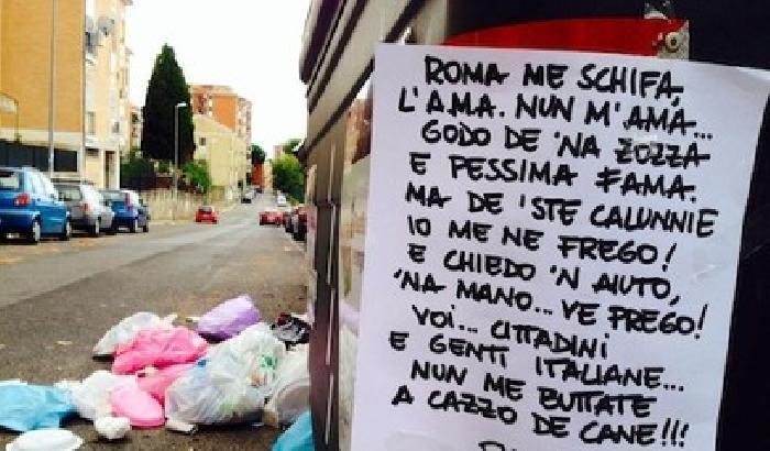 Preoccupati per la gestione dei rifiuti a Roma