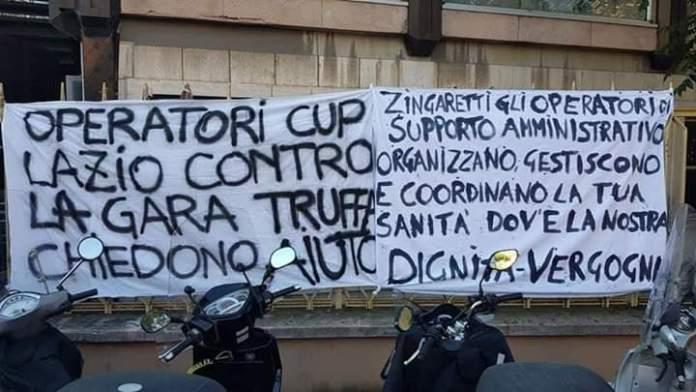 """""""Sanità regionale: per i disservizi Cup telefonate a Zingaretti e company"""""""