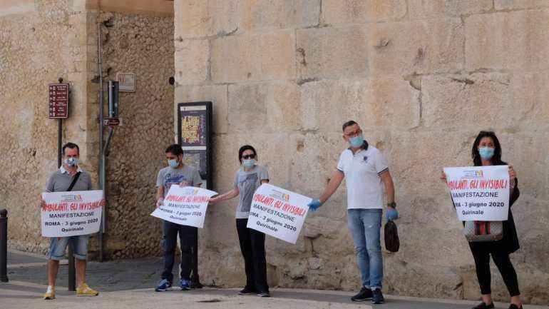 Fondi Vera solidale con gli operatori del commercio ambulante: per noi non sono invisibili!