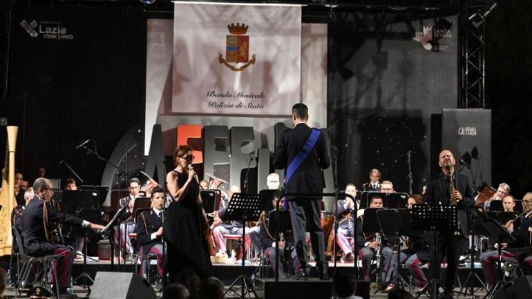 Santa Marinella. Successo del concerto della Banda Musicale della Polizia di Stato