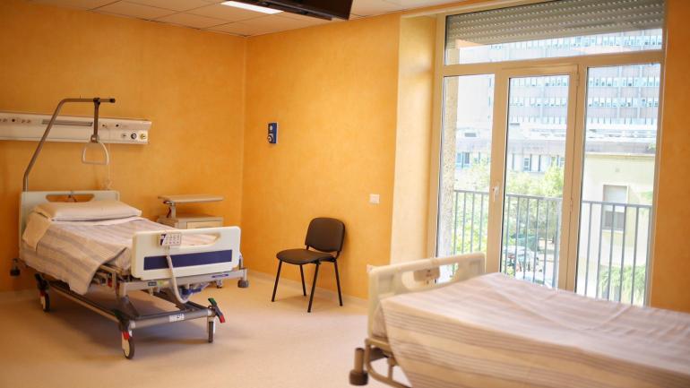 Inaugurato il nuovo reparto di ematologia del Sant'Eugenio