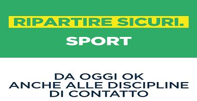 Sport: nel Lazio da oggi ripartono anche discipline di contatto
