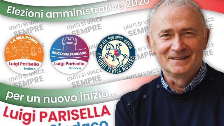 Fondi – amministrative di settembre. L'ex sindaco Parisella si presenta. Con iuna lista civica