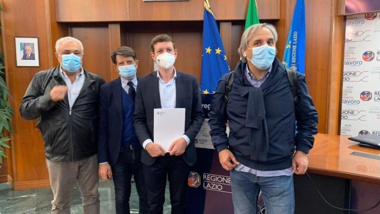 Anche la Cisl Medici Lazio ha sottoscritto l'accordo tra la Regione Lazio e le Organizzazioni Sindacali Cgil-Cisl-UIL