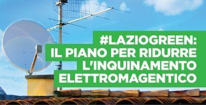 Regione Lazio. Approvate linee guida per riduzione elettromagnetismo