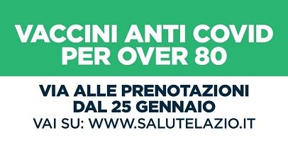"""Coronavirus: unità crisi Lazio, """"Over 80 si parte il 1° febbraio"""""""