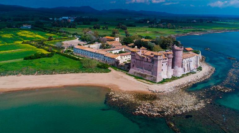 Il Lazio in zona gialla: riaprono i Musei del Castello di Santa Severa