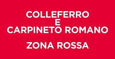 Colleferro e Carpineto Romano ZONA ROSSA, Zingaretti firma l'ordinanza