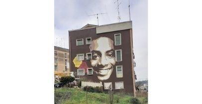 Colleferro: da regione e As Roma un murales per Monteiro Duarte