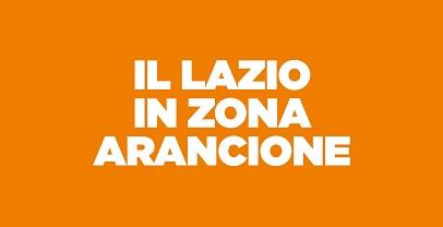 Lazio in Zona Arancione dal 30 marzo