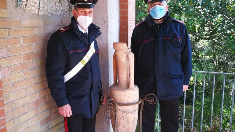 Un tesoro archeologico in una villa privata a Fondi: parola agli esperti