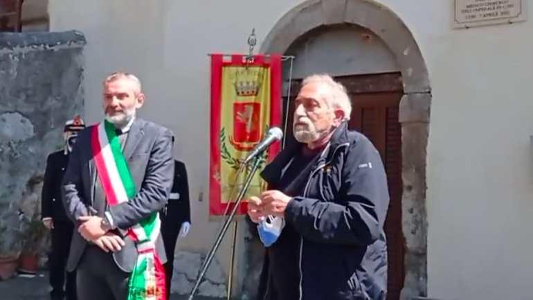 Cori. La piazza dell'ospedale dedicata al dr. Bertrando Fochi