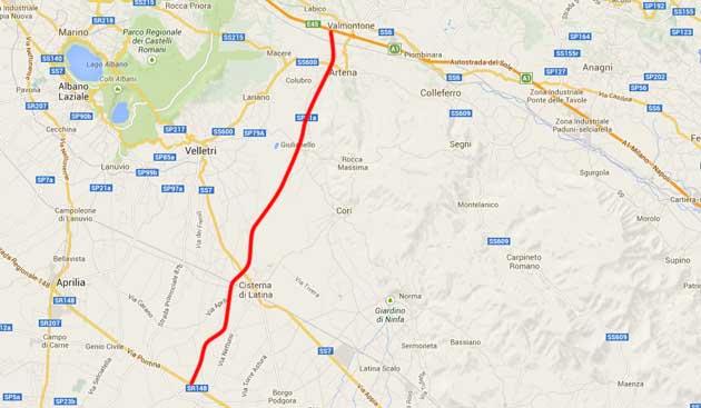 Infrastrutture, Spena (FI): Governo sblocca i cantieri, c'è anche la Cisterna-Valmontone