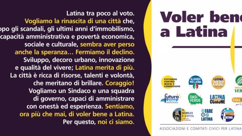 Voler Bene a Latina su rifiuti e discariche