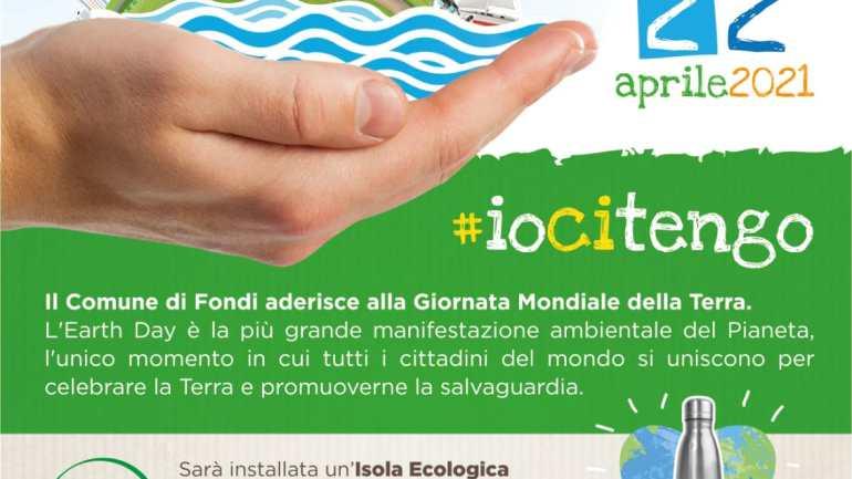 Anche Fondi celebra l'Earth day: borracce in cambio di ingombranti e messaggi di sensibilizzazione