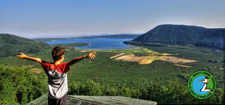 Ambiente: inaugurato nuovo parco in riserva naturale Lago di Vico