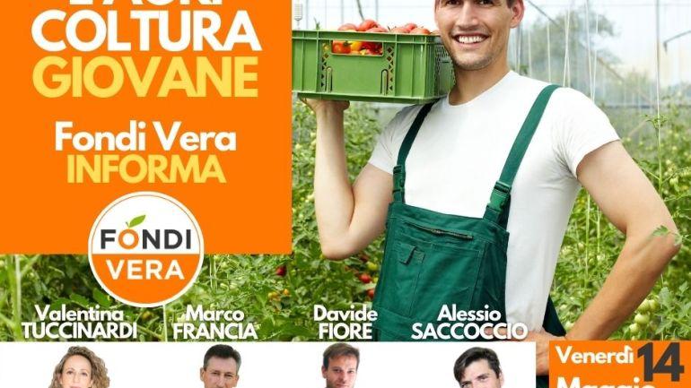 """""""L'Agricoltura Giovane"""": Fondi Vera promuove una Conferenza on line per il 14 Maggio"""