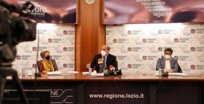 Regione Lazio, sul Covid presentati i dati della campagna vaccinale su mortalità