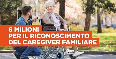 Regione Lazio, per il sociale 6mln per il caregiver familiare
