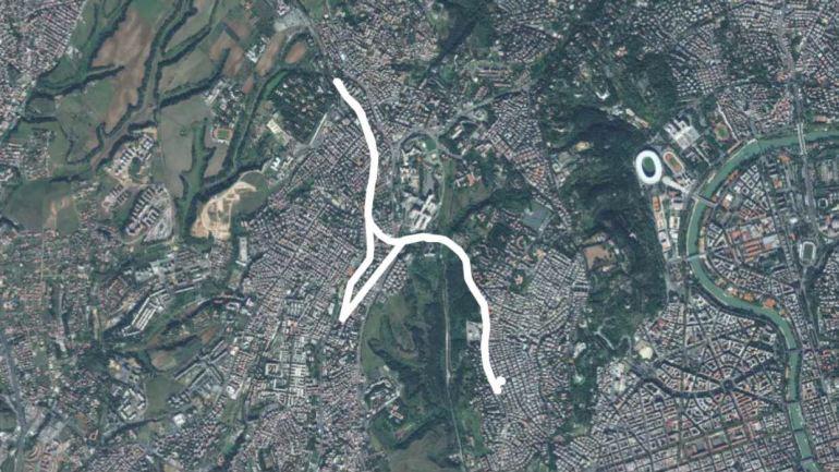 XIV Municipio: Lega, pista ciclabile a Monte Mario sopra reperti dell'antica Roma